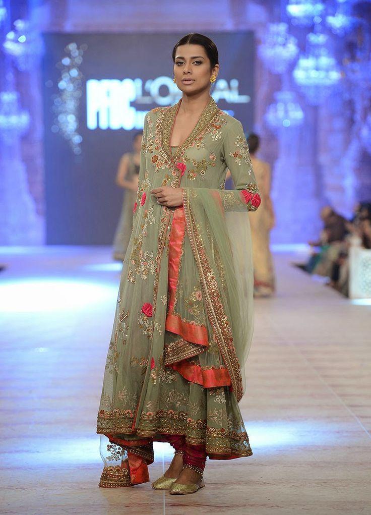 Bridal Wear | New Bridal Dresses 2015 By Misha Lakhani At PFDC