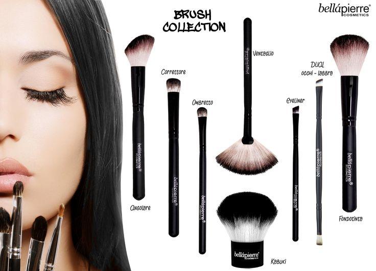 I #pennelli #bellapierre sono tutto ciò di cui hai bisogno per una perfetta applicazione del #makeup, sia in polvere che compatto.