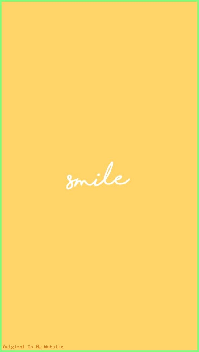 Iphone Wallpaper Aesthetic – yellow background –  #IphoneWallpaperAestheticbts #iphonewallpap…