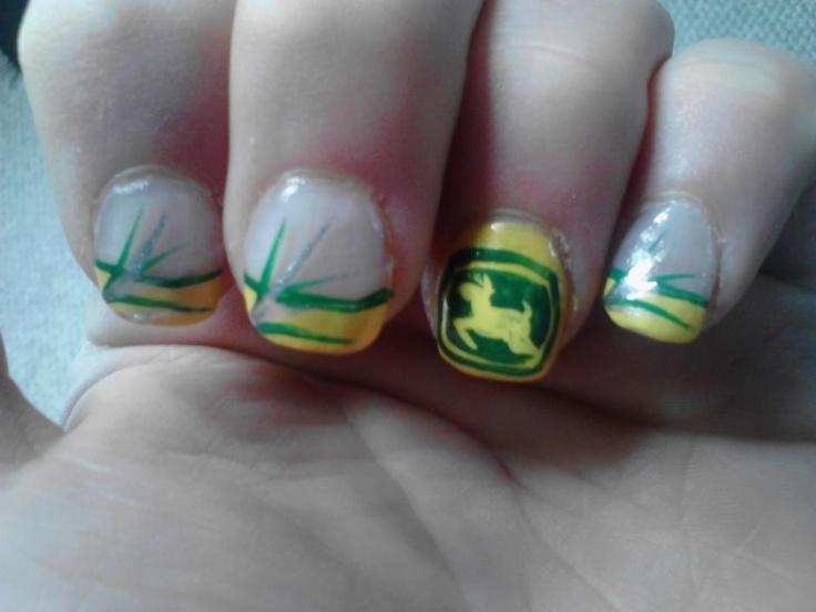 John Deere Nails <33