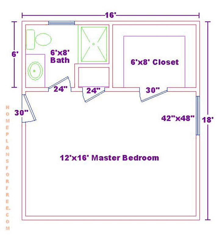 17 best images about floor plans on pinterest master suite addition closet and layout How much to add master bedroom and bathroom