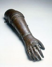 Pliny the Elder also recorded the tale of a Roman general, Marcus Sergius, whose right hand was cut off while campaigning and had an iron hand made to hold his shield so that he could return to battle. A famous and quite refined[7] historical prosthetic arm was that of Götz von Berlichingen, made at the beginning of the 16th century. The first confirmed use of a prosthetic device, however, is from 950–710 BCE. In 2000, research pathologists discovered a mummy from this period buried in the…