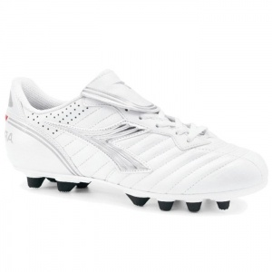SALE - Diadora Scudetto LT Soccer Cleats Womens White Leather - Was $56.99 - SAVE $8.00. BUY Now - ONLY $48.99