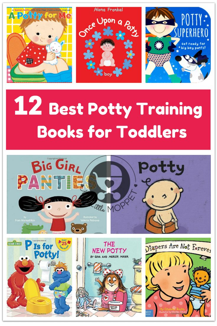 If you're starting to potty train your toddler, get them excited about the coming process with some fun and colorful potty training books for toddlers.