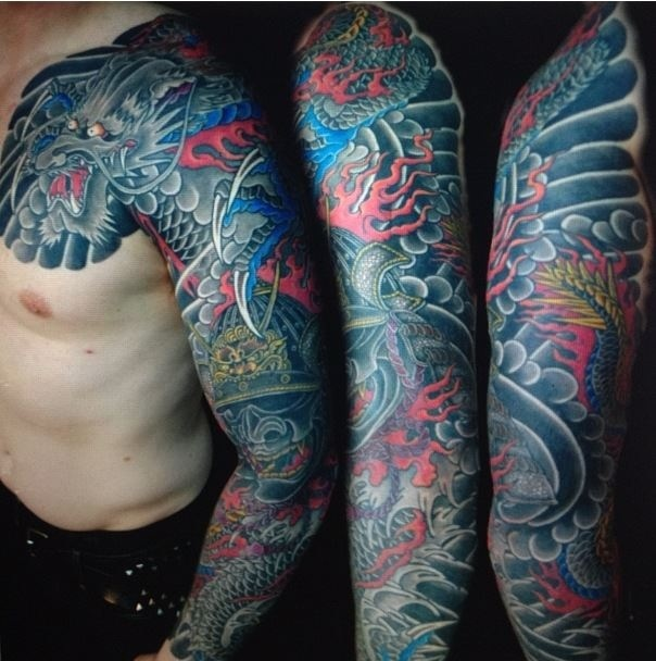 Onizuka tattoo in los angeles blood ink tears for Bloody ink tattoo price