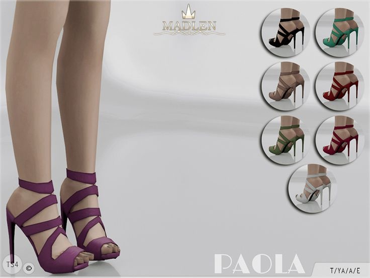 New high heeled sandals! Come in 8 colours (suede texture).  Joints are perfectly assigned. All LODs are replaced with new ones.  Found in TSR Category 'Sims 4 Shoes Female'