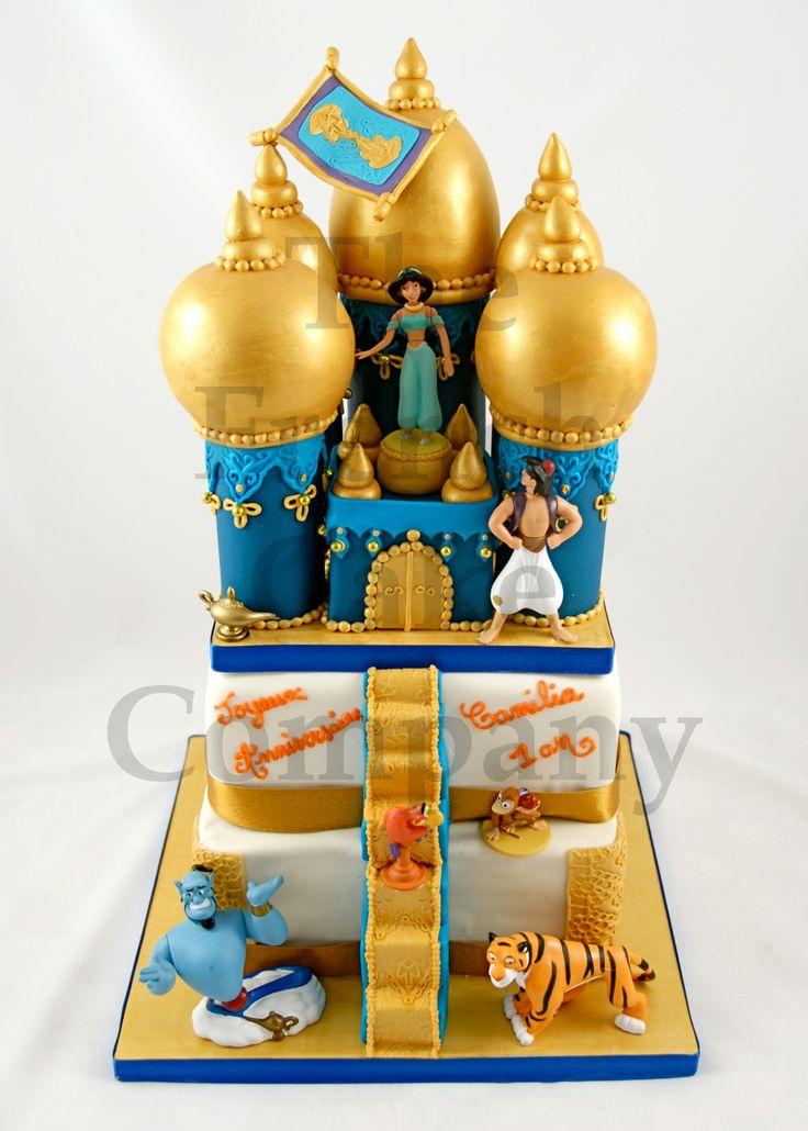 Cakes For Girls Aladin - Gateau D'anniversaire Pour Enfants Filles Aladin - Verjaardagstaart