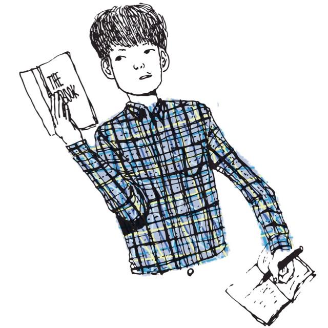 Check-shirt boy  http://hanqsun.com