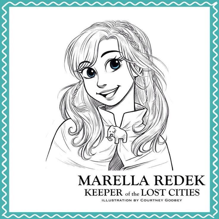 Marella From The Keeper Series Drawn By Clg