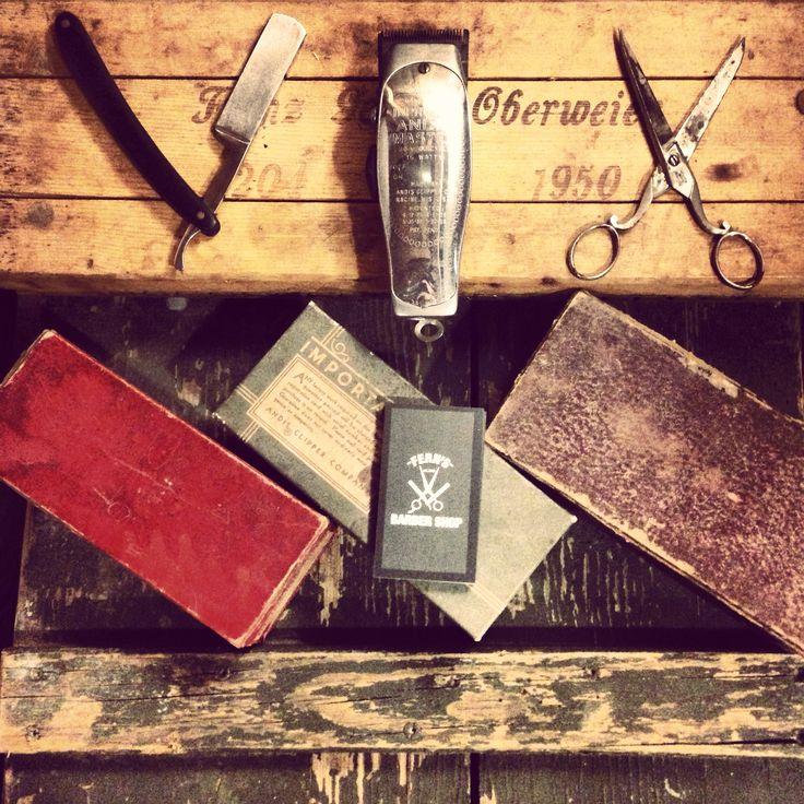 Vintage Barber Tools Vintage Barber Tools Pinterest