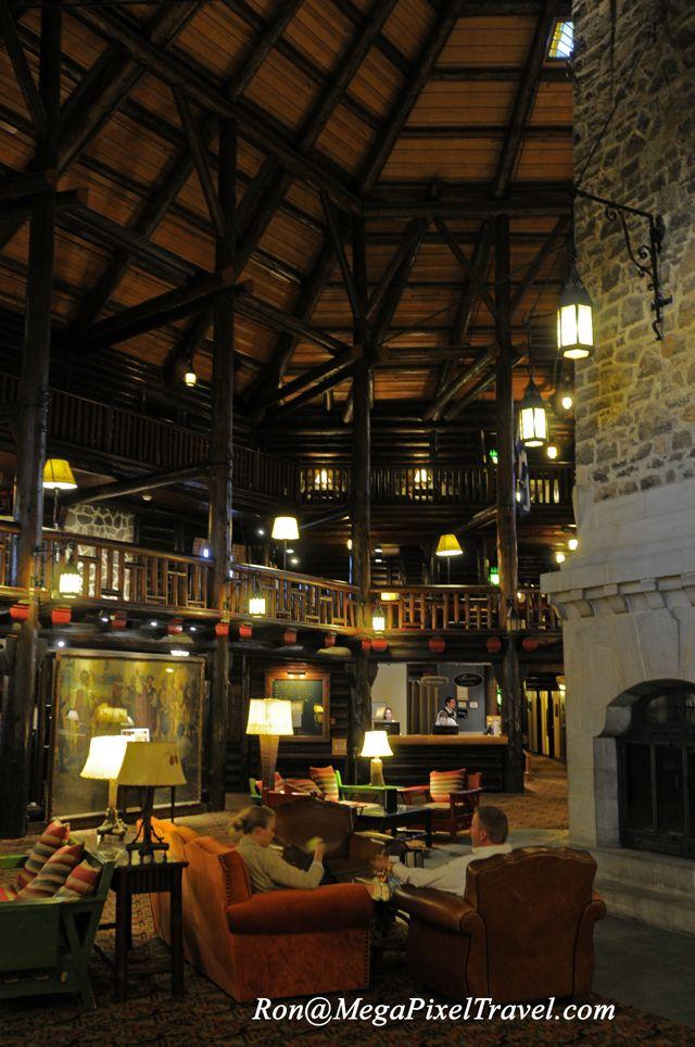 chateau montebello, quebec, canada