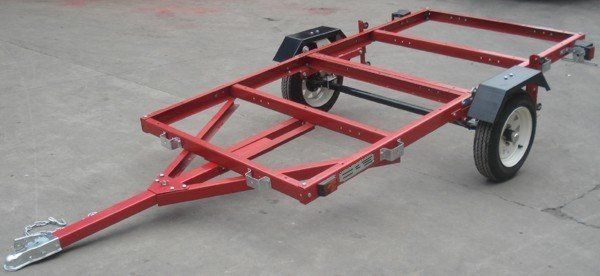 THE MOST VERSATILE UTILITY TRAILER ON EARTH! The amazing MightyFold is the reason we started this webstore! We have been selling this model locally for some time and we have been so amazed by the overwhelmingly positive customer response that we decided to begin selling online to reach more satisfied customers. The MightyFold has enough space and capability to do everything you could do with a pickup bed PLUS MORE. With its full size 4'x8' bed and 1180lb capacity, it is perfect to haul…