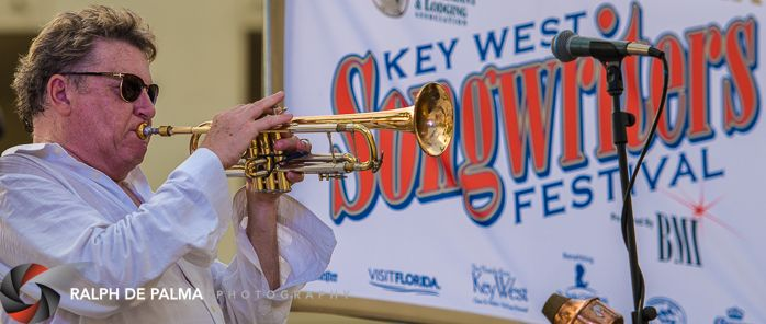 Ken Fradley at the Casa Marina stage.