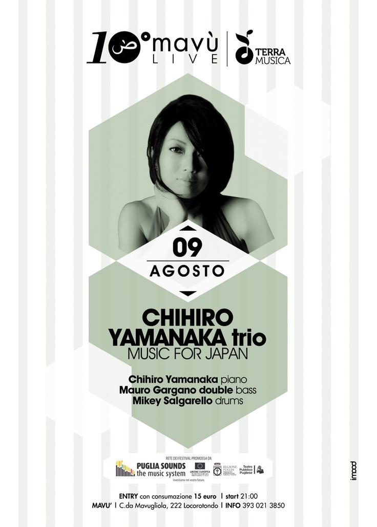 9 AGOSTO 2012 | Chihiro Yamanaka trio | Mavù