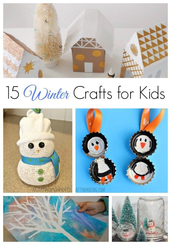 13 best images about fun for the kids on pinterest for How to make winter crafts