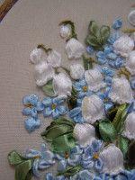 Gallery.ru / Фото #120 - Вышивка лентами - Ленточные старания - Valehcia