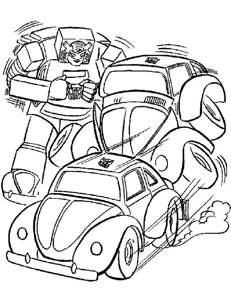 bumblebee transformers coloring pages free. Who doesn't