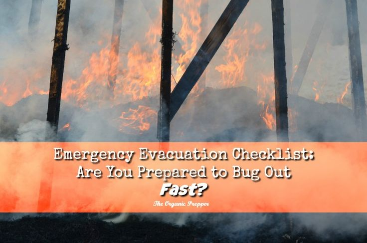 Are you prepared for an emergency evacuation when seconds count?