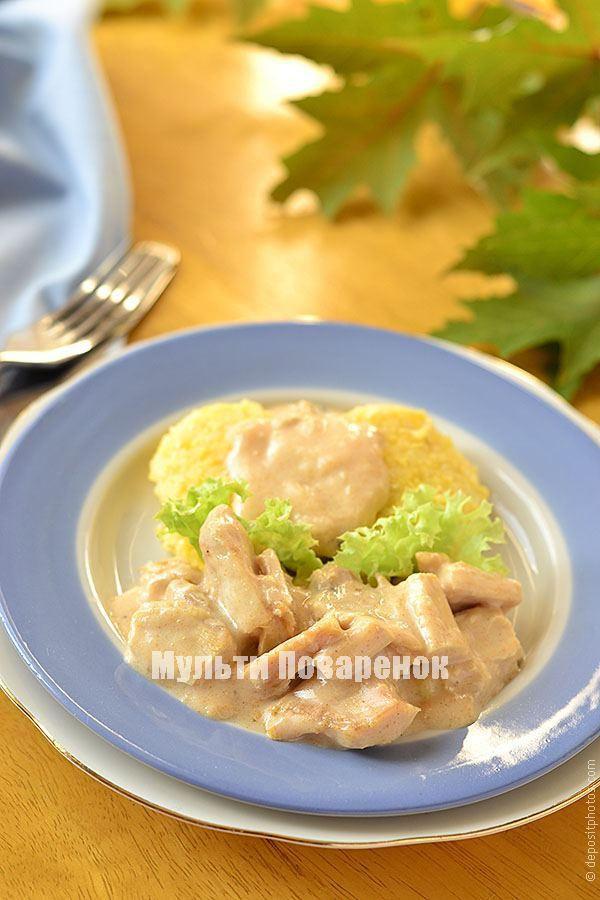 Курица в сметане в мультиварке: рецепт на каждый день