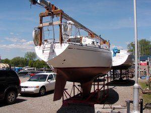 AFT SIDE Dry-Docked