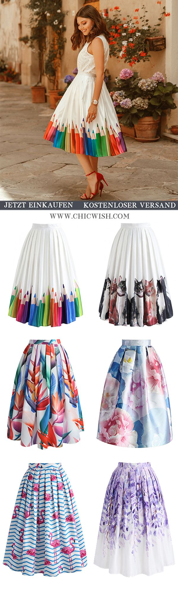 Chicwish Midi Rock