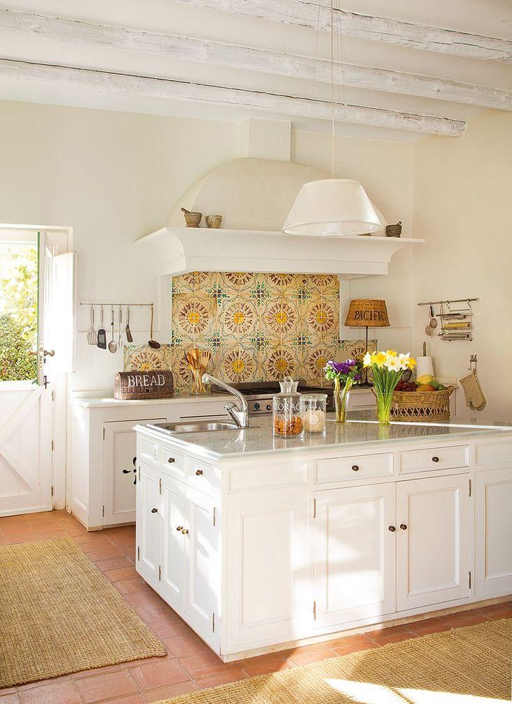 Las 25 mejores ideas sobre azulejos de pared de cocina en - Cocinas pintadas ...
