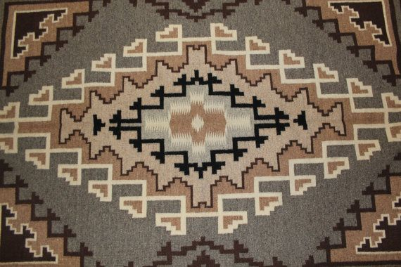 92. Native American Intricate Navajo Weaving by by CulturalPatina