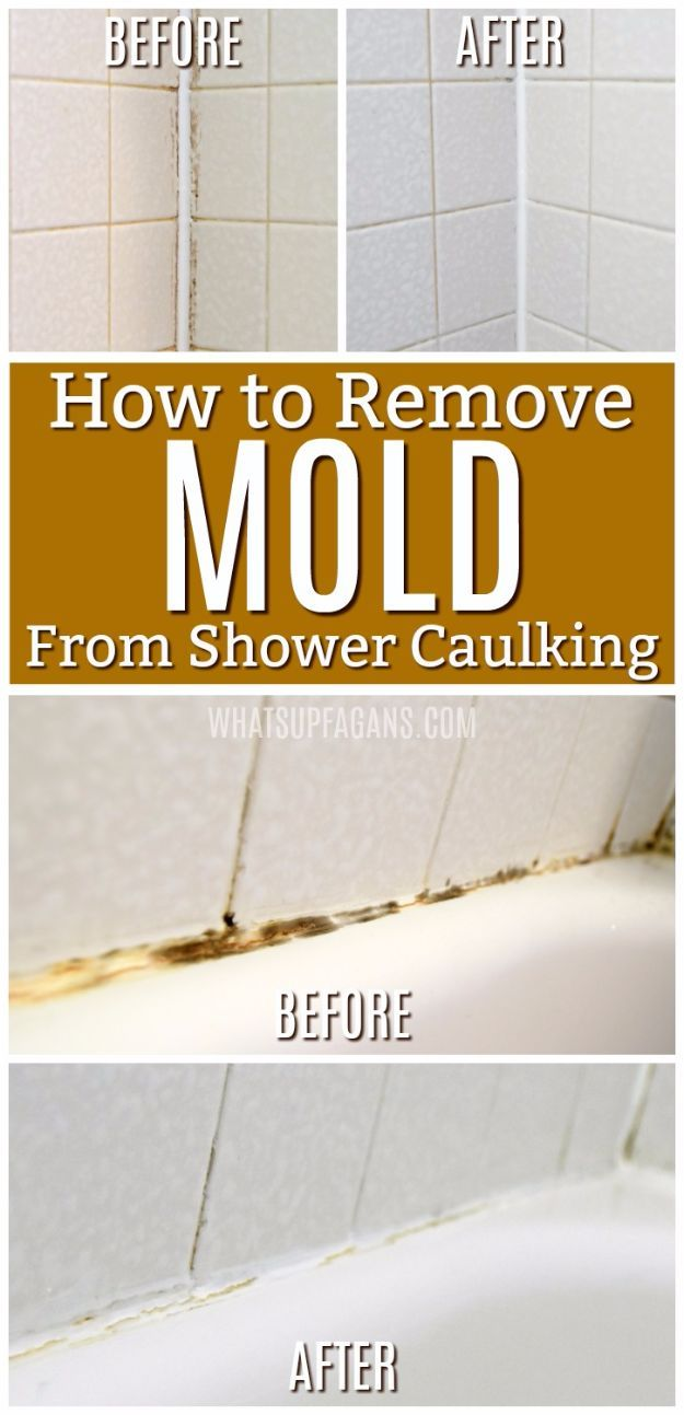 Reinigungstipps 30 Diy Cleaning Tips | Mold In Bathroom, Remove Mold From Shower, Cleaning Mold