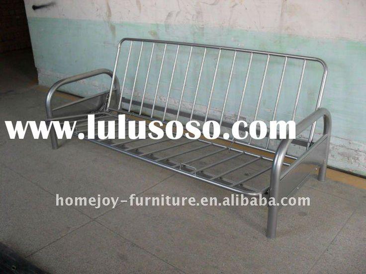 Folding Tubular Sofa Bed Double Metal Futon Sofabed Frame Base Tio Sam Pinterest And Beds