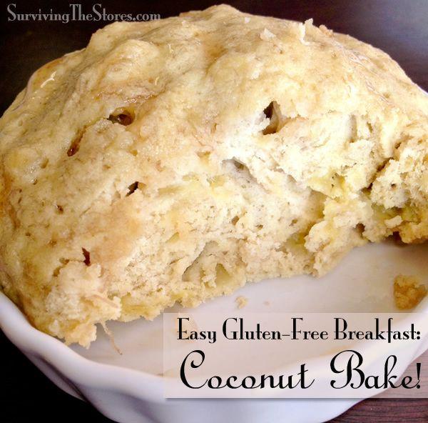 Coconut Flour Breakfast: Gluten-Free Coconut Bake Recipe! - Surviving The Stores™
