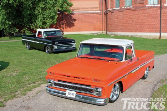 1966 and 1964 Chevy C10-Double Whammy-Custom Classic Trucks