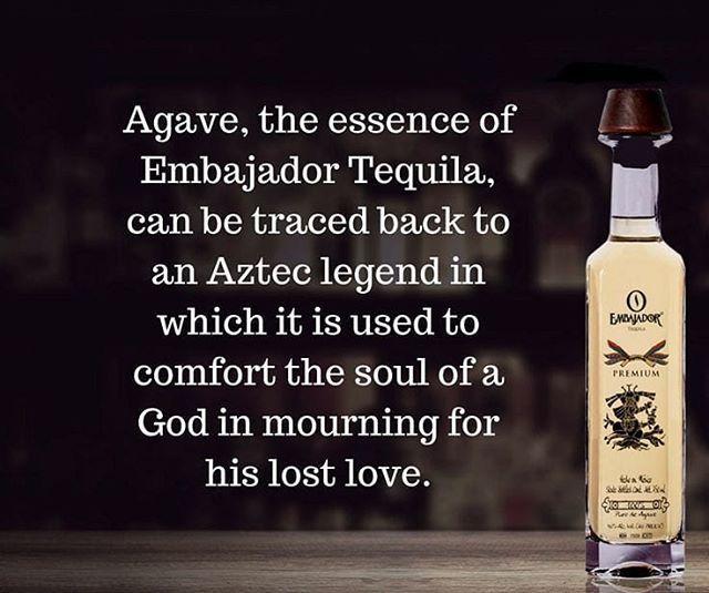 Embajador To Comfort The Soul Tequila Instagram Vodka Bottle