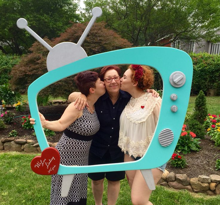 I love Lucy picture frame / photo booth prop. Birthday party theme
