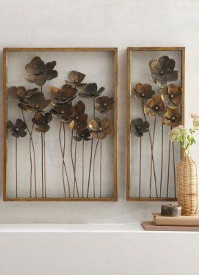 Botanical Metal Wall Art.