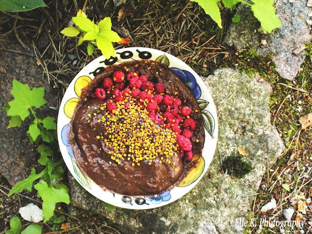 LAYERED CHOCOLATE HEAP — nutritious, wholefoods combo of multiple wellness boosting ingredients!
