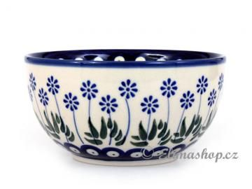 BOWL 14 cm . This Handmade Polish Pottery bowl is from ELIMAshop.cz . Boleslawiec . Bunzlau . ceramics . stoneware . ( miska 14cm - ELIMAshop.cz )