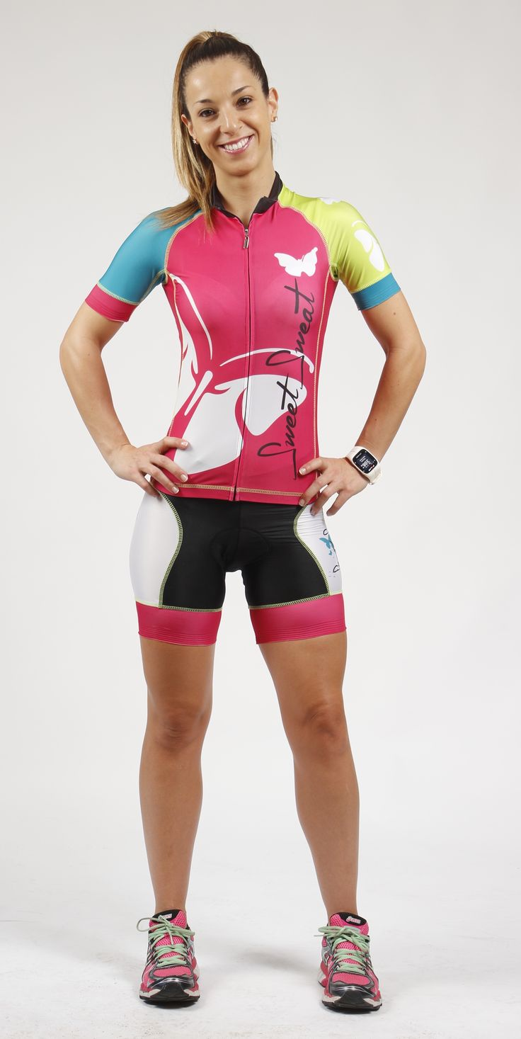 Conjunto Ciclismo Mariposas Sweet Sweat