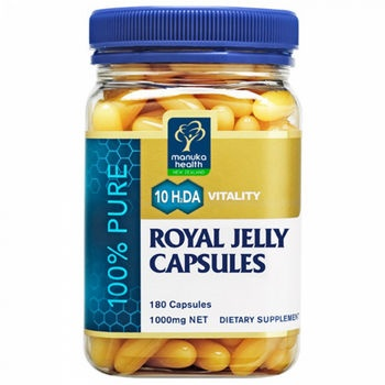 Manuka Health Royal Jelly 180 Capsules