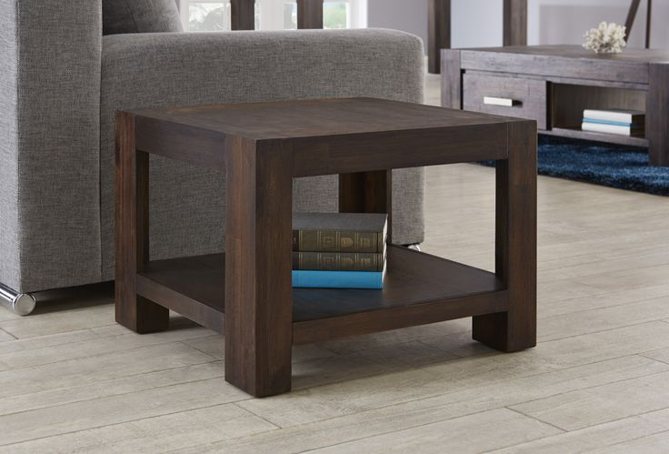 With a clean contemporary look the Kingston Lamp Table will look great in an urban or coastal setting.