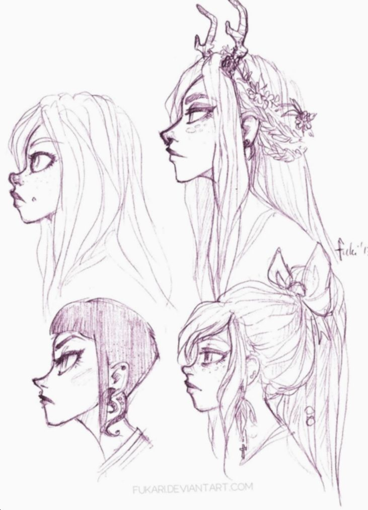 Anime Face Side View Character Design Animecosplay Mangacosplay Mha Profile Drawing Drawings Cool Drawings