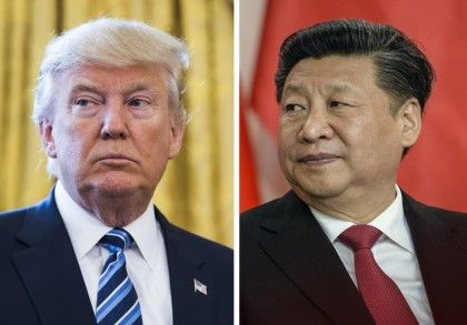 """10/02/2017 - Trump et la """"Chine unique"""" : Il s'agit peut-être d'un premier affrontement où Trump a dû agiter le drapeau blanc, si l'on peut dire."""