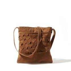 Bolso de piel trenzada La Redoute Collections - Bolsos