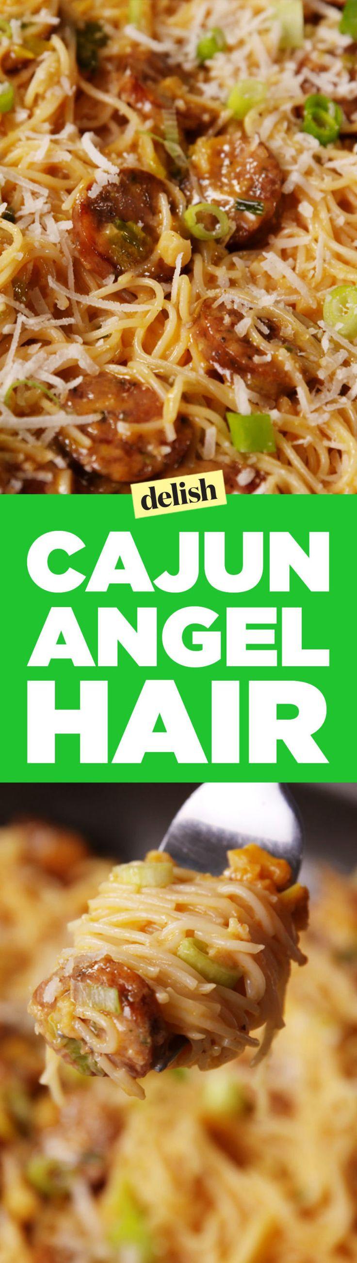 Our Creamy Cajun Angel Hair Has a Kick You Can't Resist  - Delish.com
