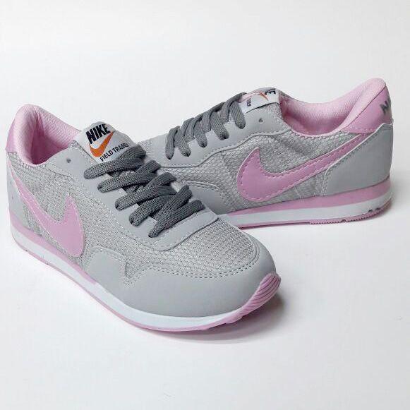 Nike Field Trainer Taş Gri Beyaz Pembe Renk Bayan Spor Ayakkabı  WhatsApp Bilgi Hattı ve Sipariş : 0 (541) 2244 541  www.renkliayaklar.net