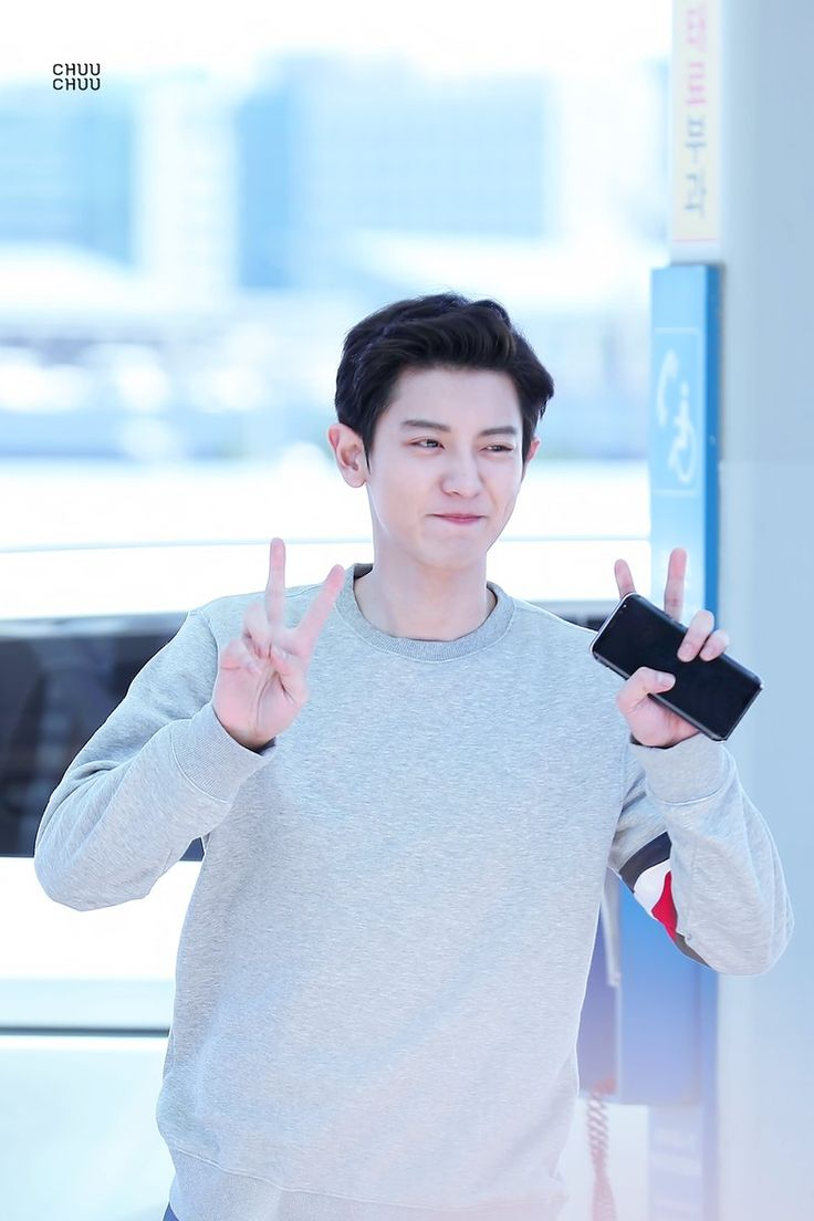 #CHANYEOL at INCHEON AIRPORT heading to London