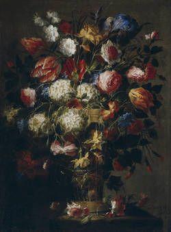 """Florero"", Juan de Arellano, Segunda mitad del siglo XVII"