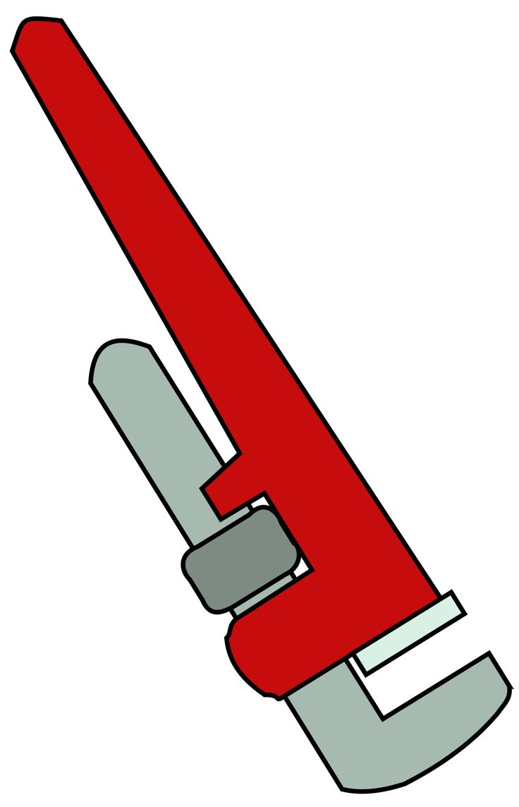 Pipe Wrench by @bnielsen, A pipe wrench., on @openclipart