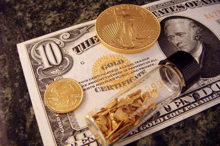 Gold-backing the dollar: Copyright: David Biagini/Shutterstock