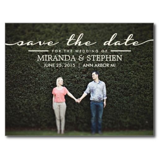 236 best Photo Save The Date Cards images – Cheap Wedding Save the Date