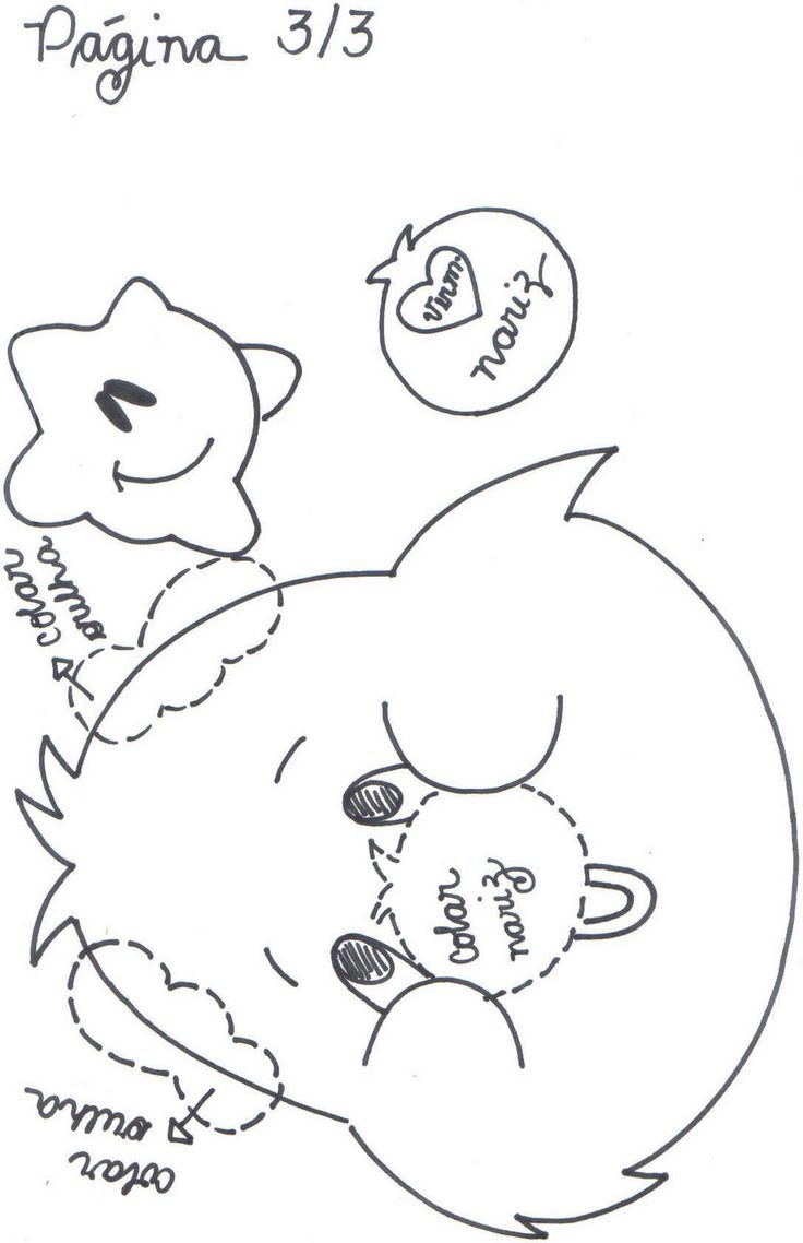 Fofuchas Eva e Cia: Ursinho Carinhoso